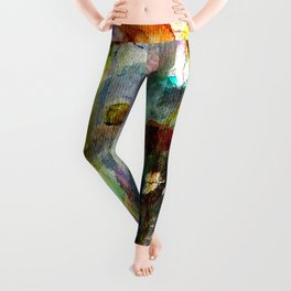 flowers on the field Leggings
