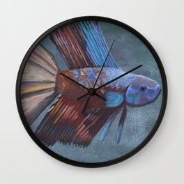 Betta Splendis Wall Clock