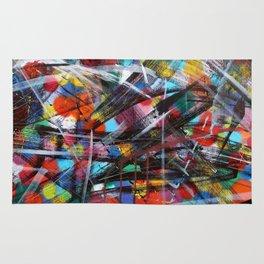 Abstract Street Art Rug