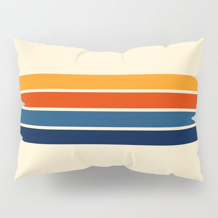 Classic Retro Stripes Pillow Sham