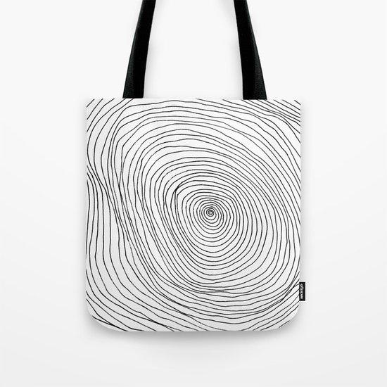 Spiral Rings Tote Bag