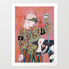 Otage Art Print