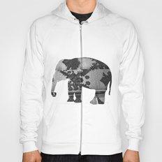 Elephant (The  Living Things Series)  Hoody