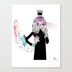 Ice Cream Queen Canvas Print