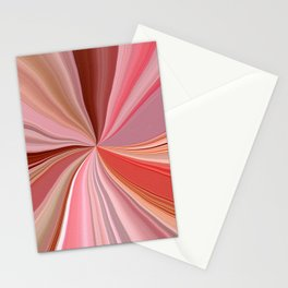Abstract Art  -  NOCTURN  IN PINK Stationery Cards