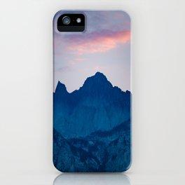Mt. Whitney iPhone Case