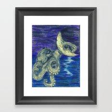 Noctopus Framed Art Print