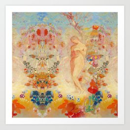Pandora reimagined Art Print