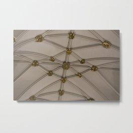 Yorkminster Ceiling Metal Print