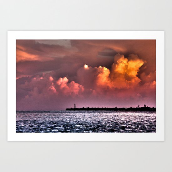 Sail On Art Print