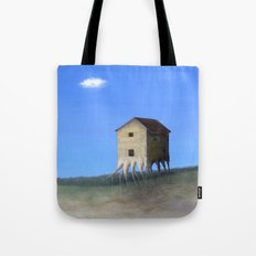 House Roots Tote Bag