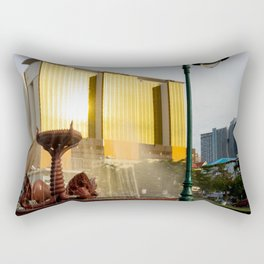Naga Fountain Rectangular Pillow