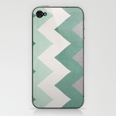 Wintergreen - Chevron iPhone & iPod Skin