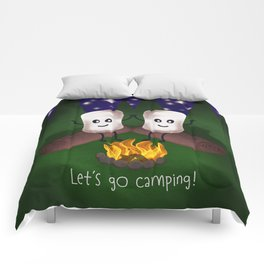 Let's Go Camping! Comforters