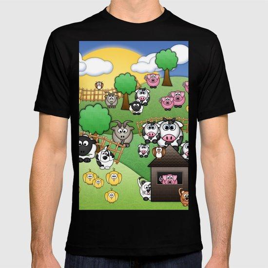 Down On Dingle Dopple Farm T-shirt