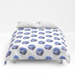 Hedgehog Hotub #2 Blue Willow Comforters