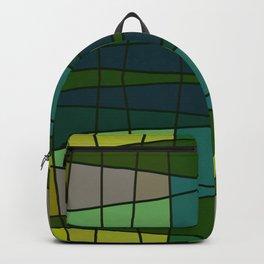 Green Pattern Turtle Backpack