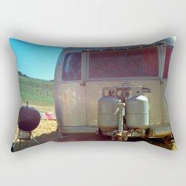 vineyard airstream Rectangular Pillow