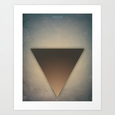 Smooth Minimal - L'origine du monde Art Print
