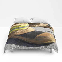 Boots on Roof Comforters