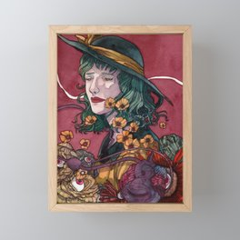 In your Subconscious - Rorschach ver. Framed Mini Art Print