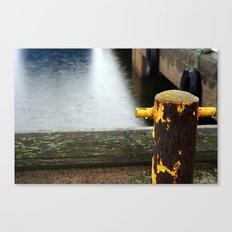 Rainy Dock Canvas Print
