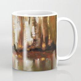 Brown City Coffee Mug