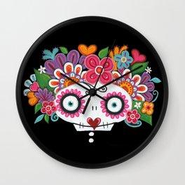 Catrina Skelly Wall Clock
