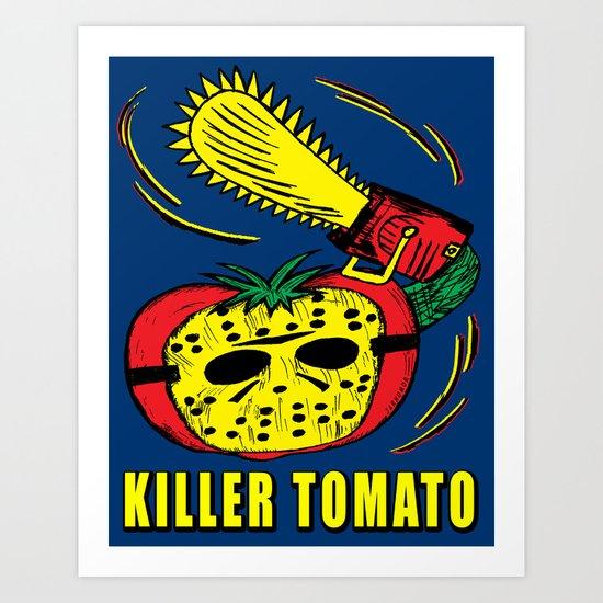 Killer Tomato Art Print