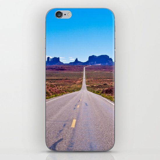 That Endless Road iPhone & iPod Skin