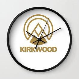 Kirkwood Lake Tahoe Ski Resort Vacation Souvenir Wall Clock