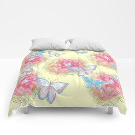 Butterfly Love Comforters