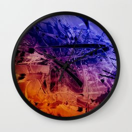 """Study Of Reeds"" Wall Clock"