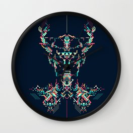 Space Viking Wall Clock