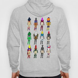 Superhero Butts - Girls Superheroine Butts Hoody