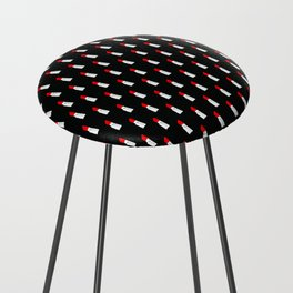 Red Lipstick Counter Stool