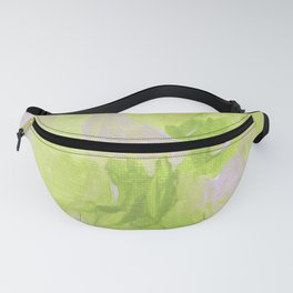 Lemon Yellow Abstract Fanny Pack