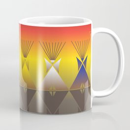 Night Tipi Coffee Mug