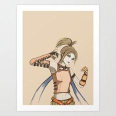 Rikku Art Print