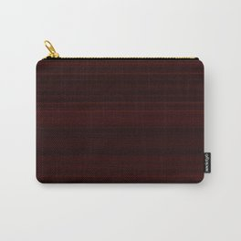 Mahogany Wood Texture Carry-All Pouch