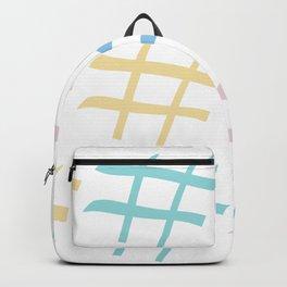 Hashtag pastel palette Backpack