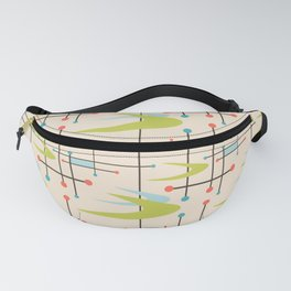 Mid Century Modern in Lime and Blush Fanny Pack