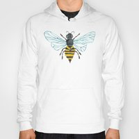 bee and puppycat Hoodies featuring Honey Bee by Cat Coquillette