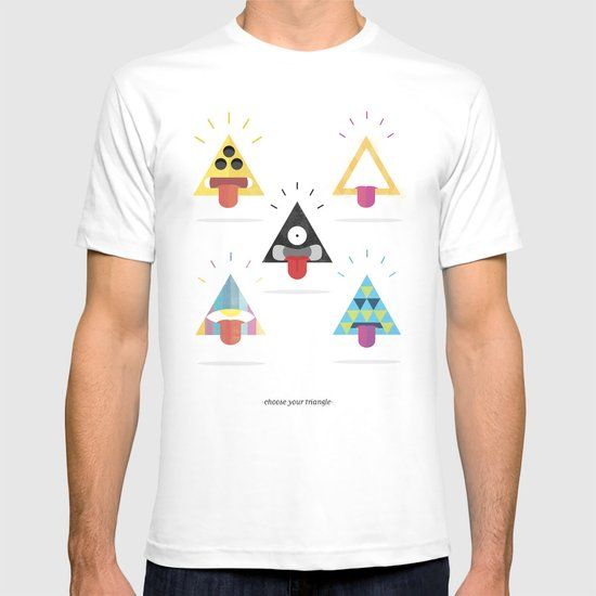 Choose your triangle. T-shirt