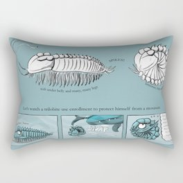 Trilobite Enrollment poster Rectangular Pillow