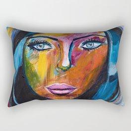 Powerful Woman Rectangular Pillow