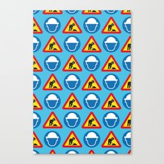 BEASTIE - Texture | Hip Hop | 80's | Music | Retro | Vector | Funny | Street Art | Abstract Canvas Print
