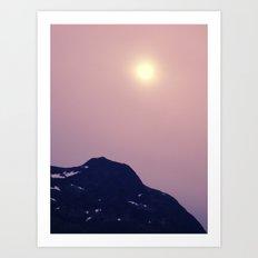 Antarctic Sun Art Print