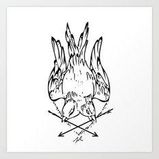 Two Bird Art Print