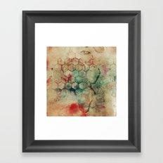 Hexa II Framed Art Print